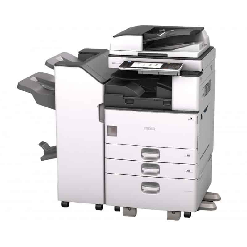 photocopieur noir et blanc ricoh mp3353ad location photocopieur. Black Bedroom Furniture Sets. Home Design Ideas
