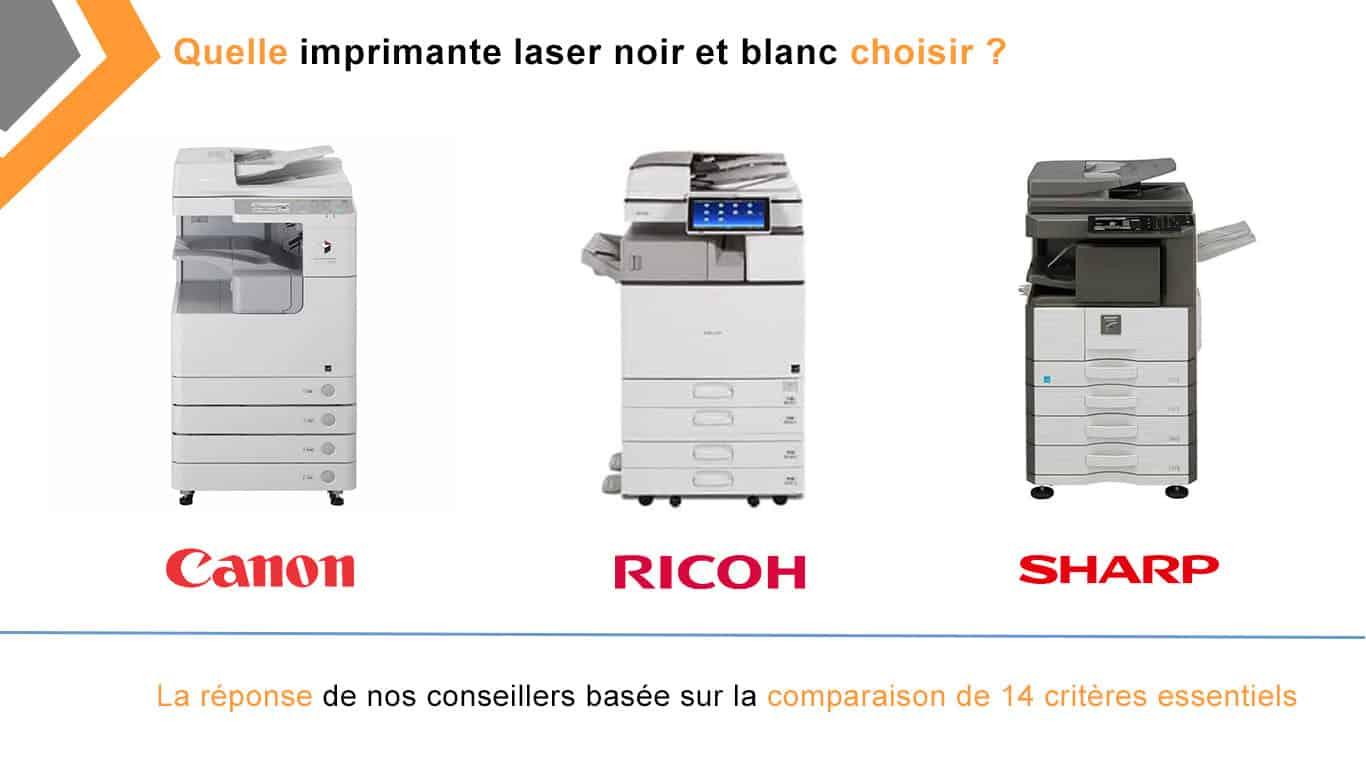 quelle imprimante laser noir et blanc choisir