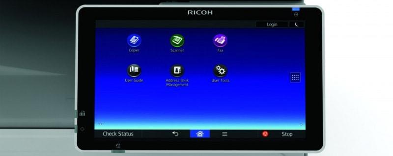 ricoh-mp-c307spf-écran